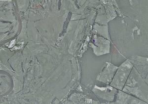 земельный участок Рожны под  Киевом, схема